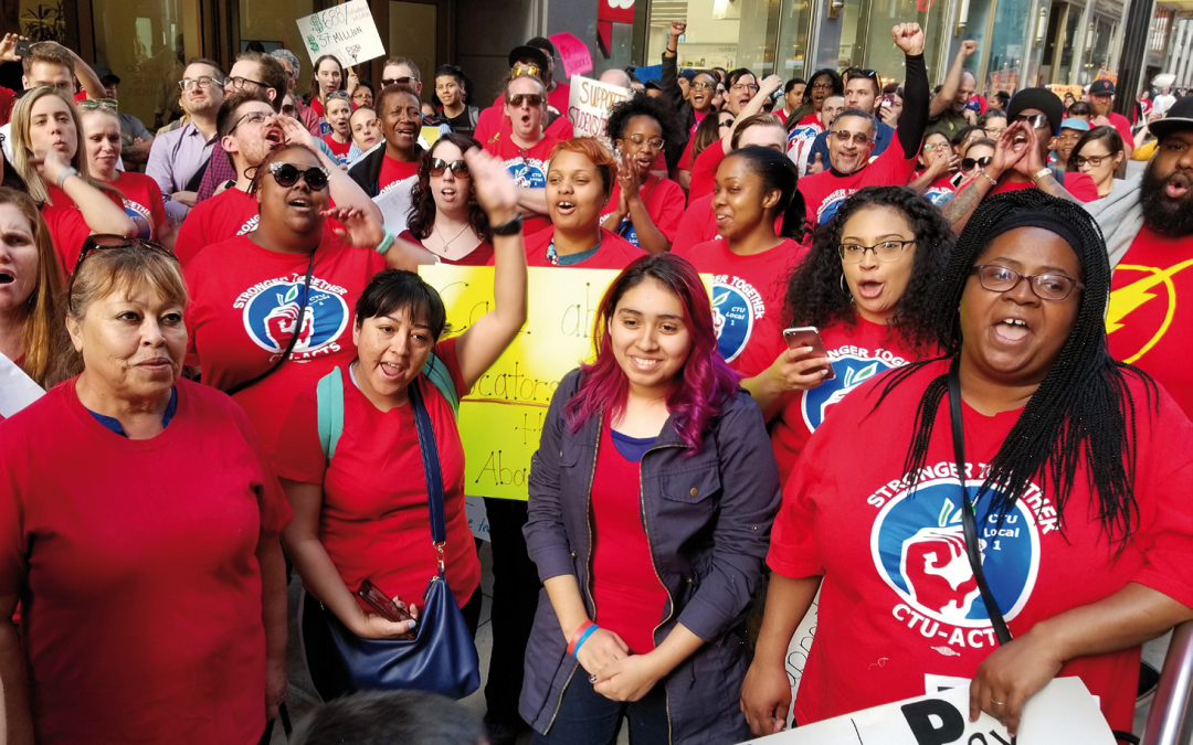 Winning justice for every Chicago public school educator