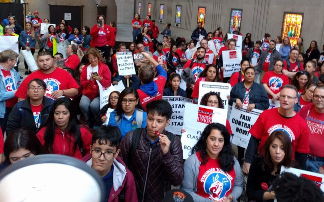 STRIKE-READY! Rally Oct. 24 to announce authorization votes