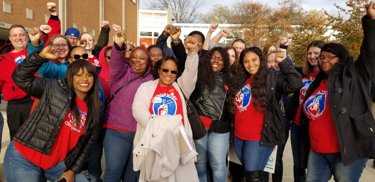 CTU charter educators vote overwhelmingly to strike at CICS/Civitas/Quest