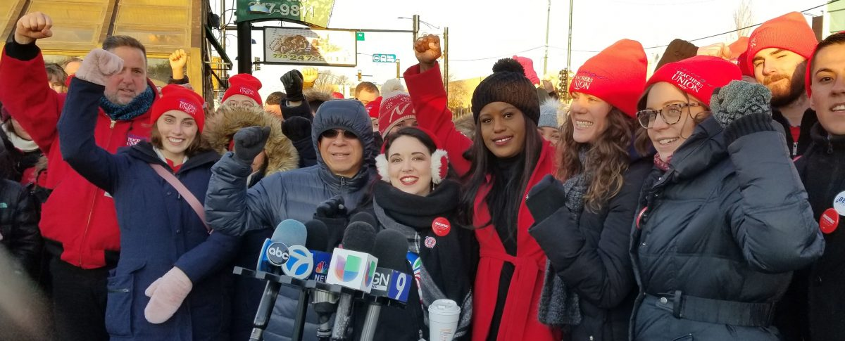 It's official: CTU members at UNO/Acero will strike on 12/4