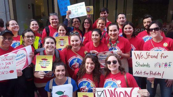 CTU members at UNO/Acero charter schools announce strike date.